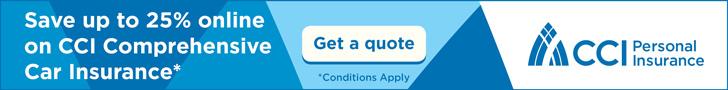 CCI Comprehensive Car Insurance - August 2016